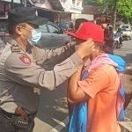 Operasi Yustisi, 20 Pelanggar Warga Madyopuro diberi Masker Gratis