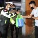 Kapolresta Bagikan Paket Sembako untuk Masyarakat Yang Kurang Mampu